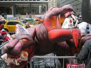 Morton Hospital nurses protest Cerberus in New York 1